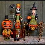 3 New Halloween pieces from Greg Guedel sell within minutes!