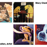 "Mary Clark & Andy Mallen ""Featured Artists""  October 2015"