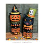 """NEW""  2019 Halloween Candy Jars by Greg Guedel"