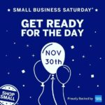 SHOP Saturday is TOMORROW, come and see us