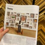 Custom Framing made it in a New York Times Article, check it out!