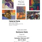 Artist Reception today from 2 pm to 4 pm!