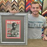 Framing a magazine cover we can help!