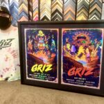 Framing Concert Posters
