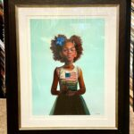 "We framed ""Sweet Liberty"" by Kadir Nelson"